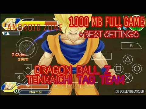 download game ppsspp dragon ball tenkaichi tag team high compress