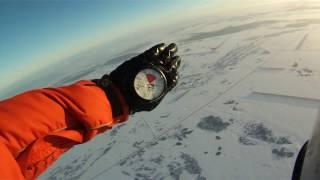 Прыжок с парашютом. Студент 210.(Первый прыжок с парашютом в 2017 году. Видео оператор Булат Гильманов., 2017-01-15T21:27:46.000Z)