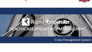 Healthcare Emergency Management