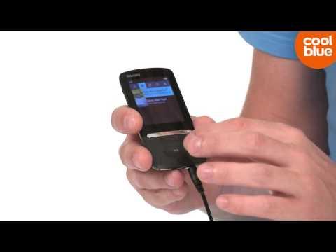 Philips GoGear Azure MP3 speler Productvideo (NLBE)