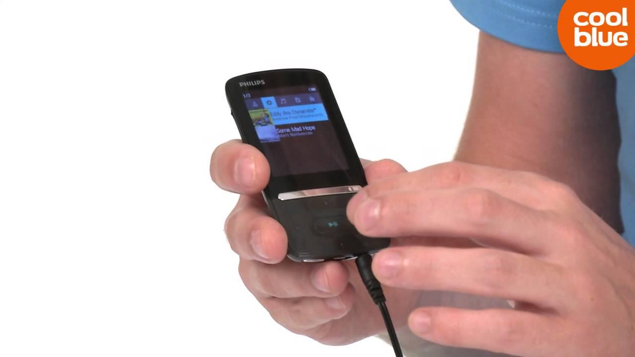 Philips GoGear Azure MP3 speler Productvideo NLBE YouTube