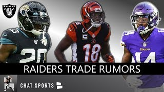 Raiders Trade Rumors On Jalen Ramsey, A.J. Green, Stefon Diggs - Giving Up 2020 1st Round Picks?