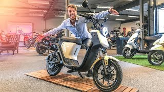 NIU U1 ELEKTRISCHE SCOOTER REVIEW - DE PRIMEUR!