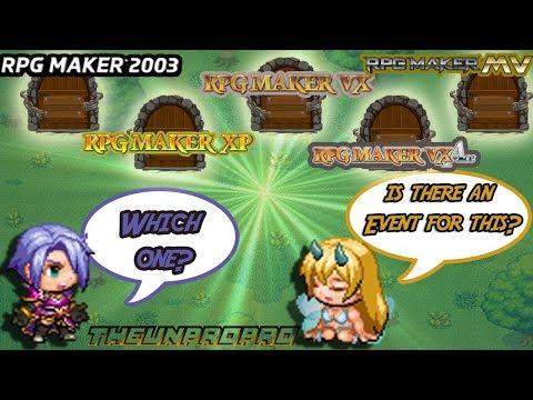 Choosing An RPG Maker - From 2003 To MV