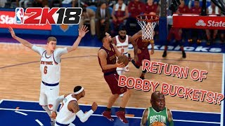 "CAVS GOING TO THE FINALS! ( FUNNY ""NBA 2K18 GAMEPLAY WITH BOBBY BUCKETS!)"
