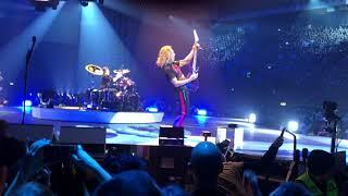 Metallica live in bologna 12 02 2018 part 1/4