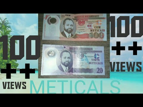 NEW MOZAMBIQUE MONEY NOTE 100 AND 20