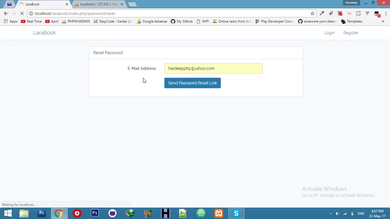 1 Forgot Password Php Mail Function Social Networking Website