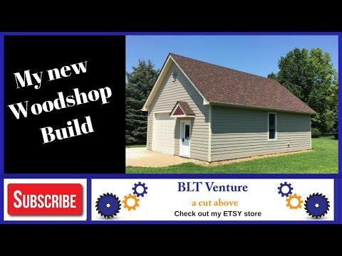 New Workshop , Woodshop, garage build part 1