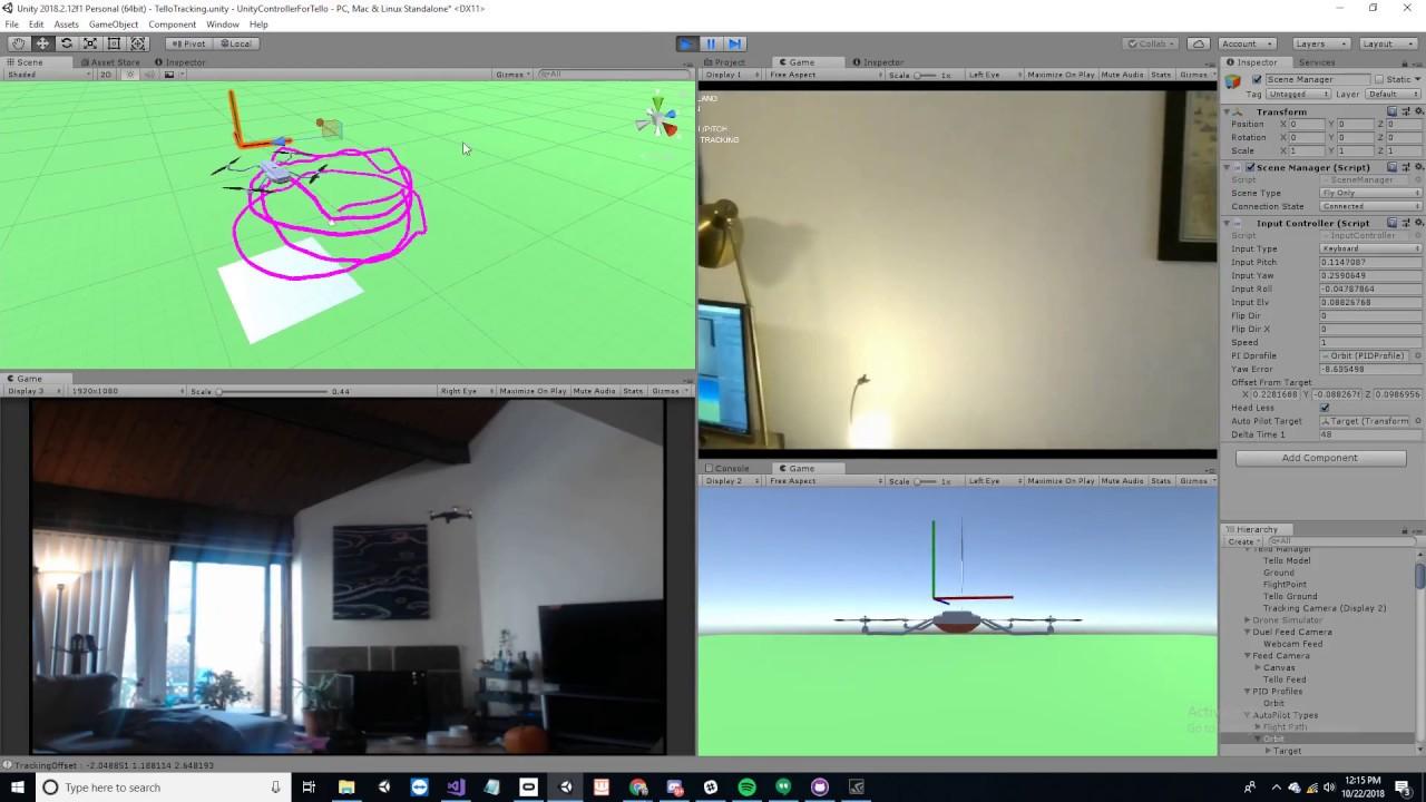 Unity Controller for Tello (Autopilot 2 0) | DJI Tello Drone Forum