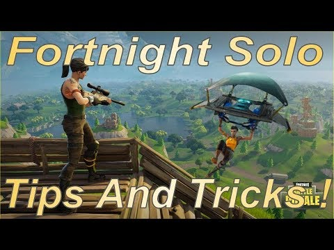 Fortnight Solo How To Win! (Tips and Tricks)