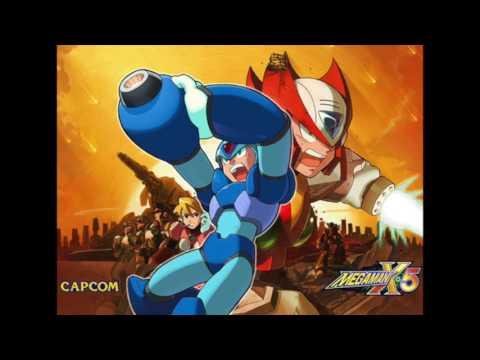 Megaman X5 OST - Eurasia City Broken Highway Zero Sped Up Extended