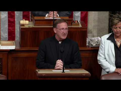 Rep. Ron Estes Welcomes Guest Chaplain Fr. Dan Spexarth of Wichita
