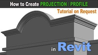 Revit Tutorial For Beginners | Tips And Tricks | Model A Wall Sweep In Revit.