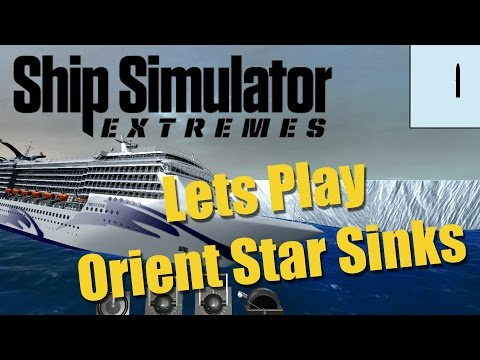 Ship Simulator Extremes Orient Star SINKS In Antarctica