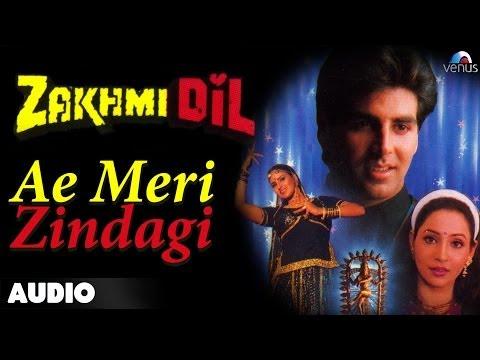 Zakhmi Dil : Ae Meri Zindagi Full Audio Song   Akshay Kumar, Ashwini Bhave  
