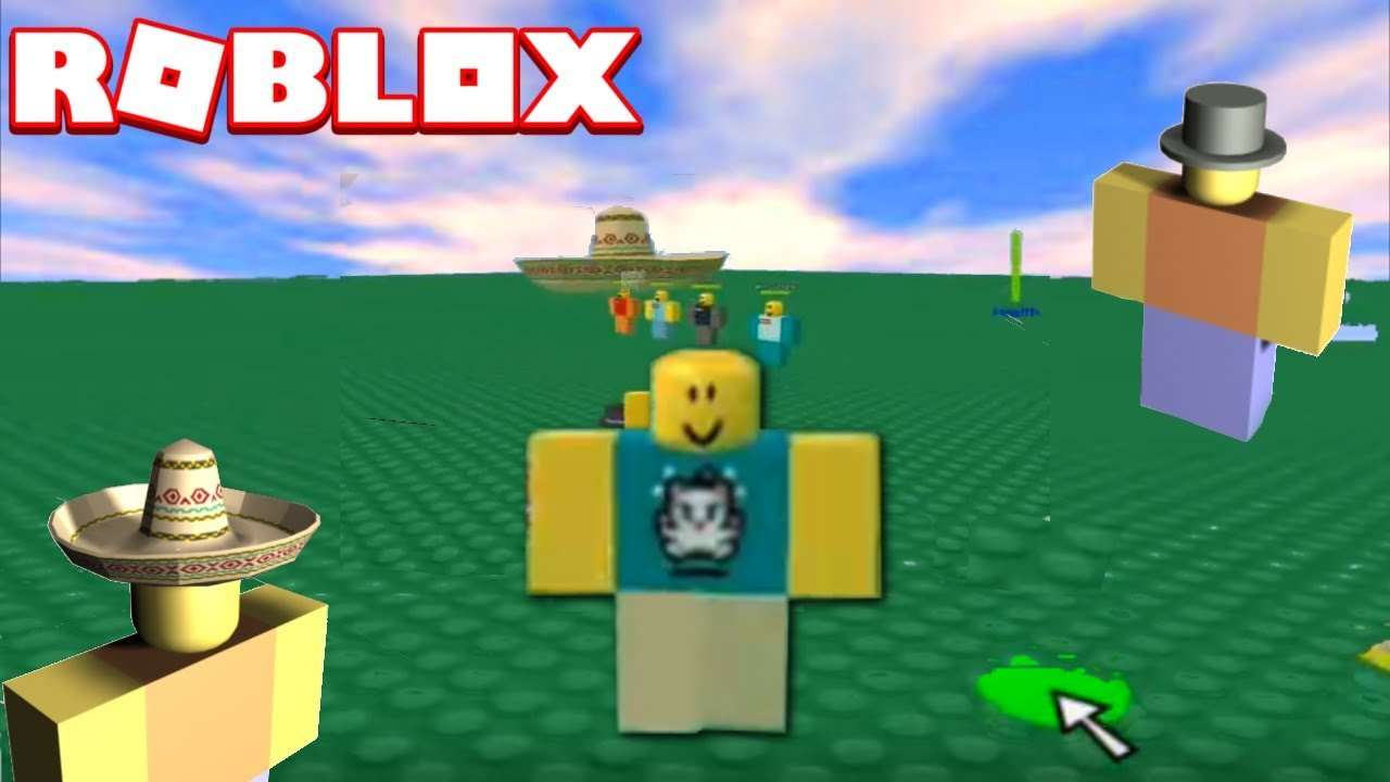 The First Roblox Hats 2007 Youtube