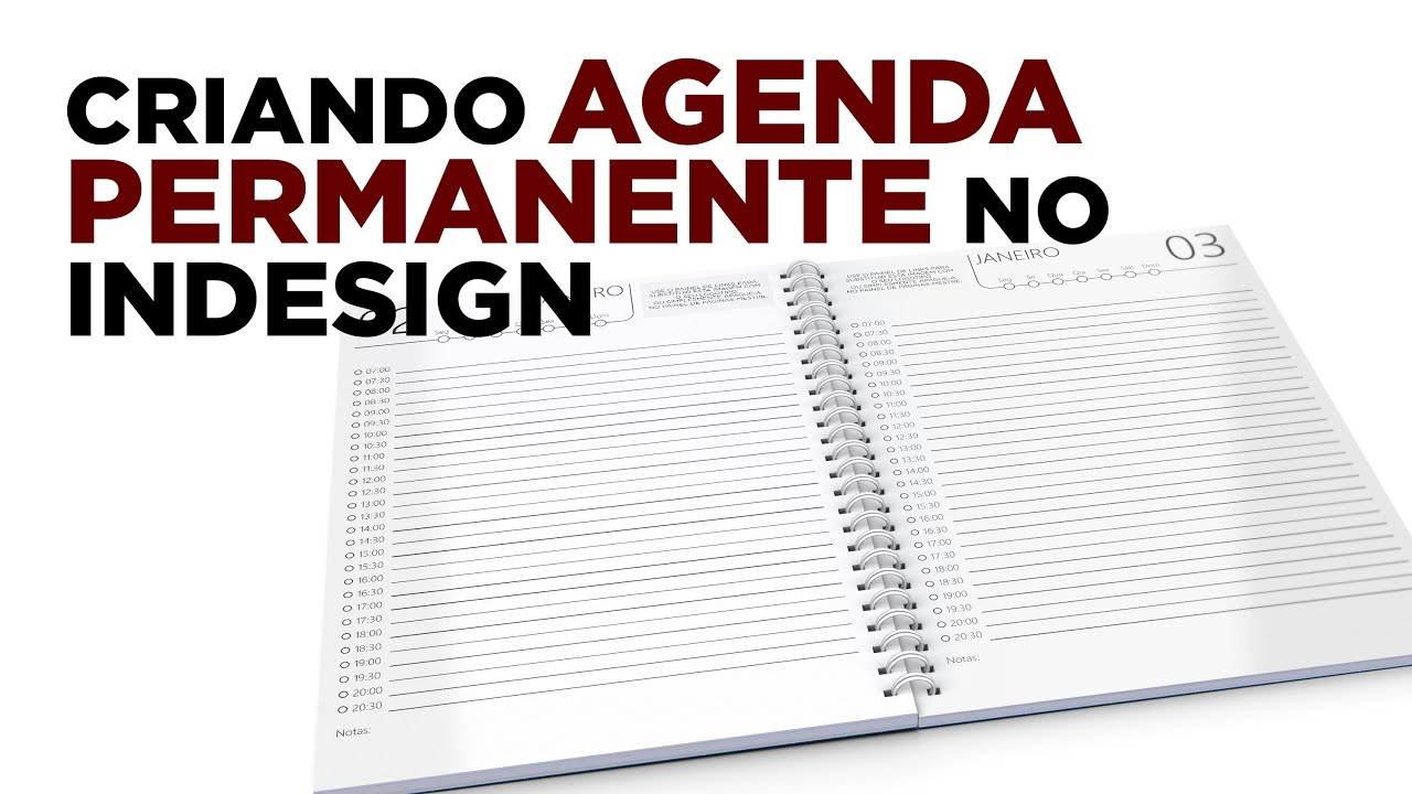 How to create permanent agenda in InDesign YouTube – How to Create a Agenda