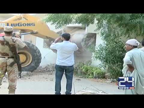 More MQM offices demolished in Karachi