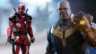 Смотреть Железный Дэдпул 2 против Таноса Война бесконечности. Мод ГТА 5