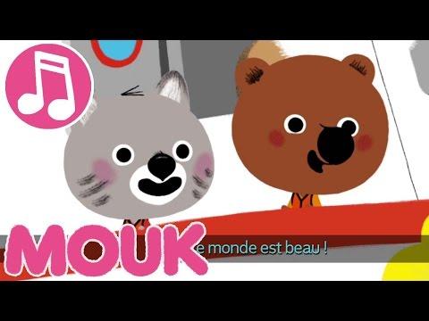 Mouk - ♬ Karaoké générique ♬   Musique pour les enfants