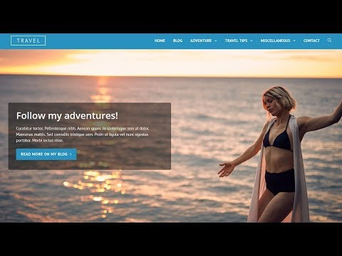 How To Make A WordPress Travel Website & Blog
