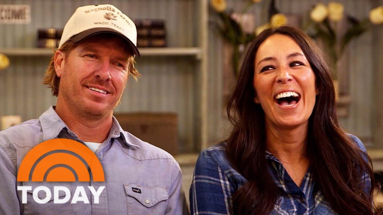 chip and joanna gaines on their dreams how they got their start full interview today youtube. Black Bedroom Furniture Sets. Home Design Ideas