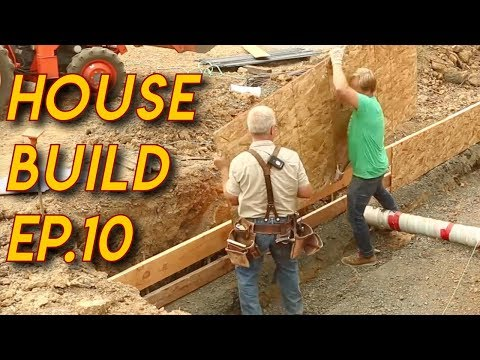 Using Turnbuckles on XXL Concrete Footing  - EP.10