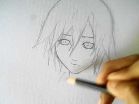 วาดรูปการ์ตูนผู้ชายน่ารัก