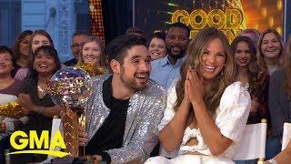 Hannah Brown talks winning Mirrorball Trophy on 'DWTS' | GMA