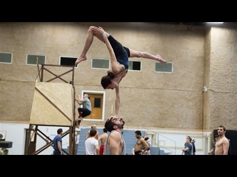Cirque du Soleil Gets Ready to Fly Onto Broadway
