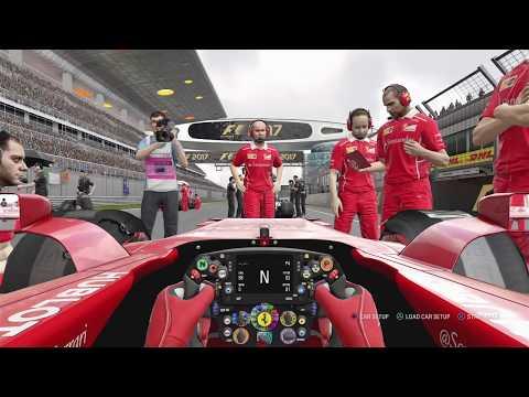 F1 2017 PS4 Online Public Lobby: Ferrari F1 Team