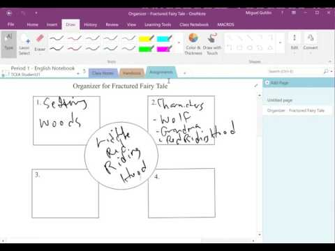 MS Classroom Part 5: Distributing/Grading in OneNote ClassNotebook