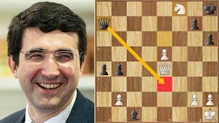 World Chess Champion Misses Mate in 1