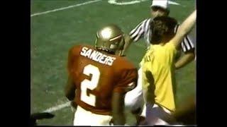 Michael irvin vs deion sanders (1987) | wr vs cb highlights