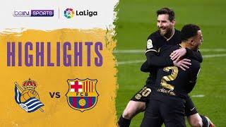 Real Sociedad 1-6 Barcelona   LaLiga 20/21 Match Highlights
