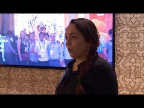 Dashmote.com holding a presentation at Amsterdam Tech Job Fair - 29th November 2017