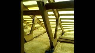 видео Деревянные стропильные конструкции. Каковы их основные преимущества и недостатки?