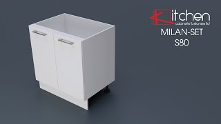 [MILAN-SET] Assembly Video for 800mm Base Cabinet