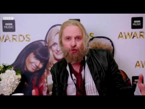 Ricky Wilson undercover at Music Awards