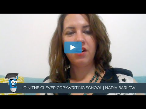 JOIN THE CLEVER COPYWRITING SCHOOL | Nadia Barlow
