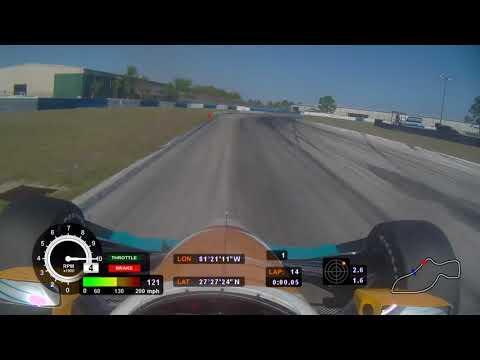 Sebring pre season Indycar testing