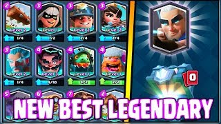 *NEW* BEST LEGENDARY CARDs in Clash Royale | Magic Archer, Royal Ghost?