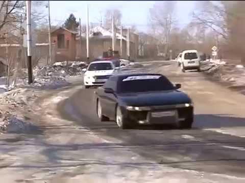 Угонщики в Хабаровске
