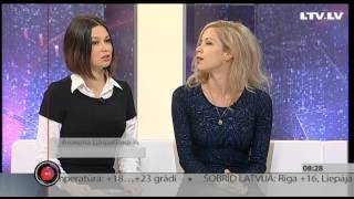 Интервью с Анжелой Шкрабакой и Полиной Столяровой