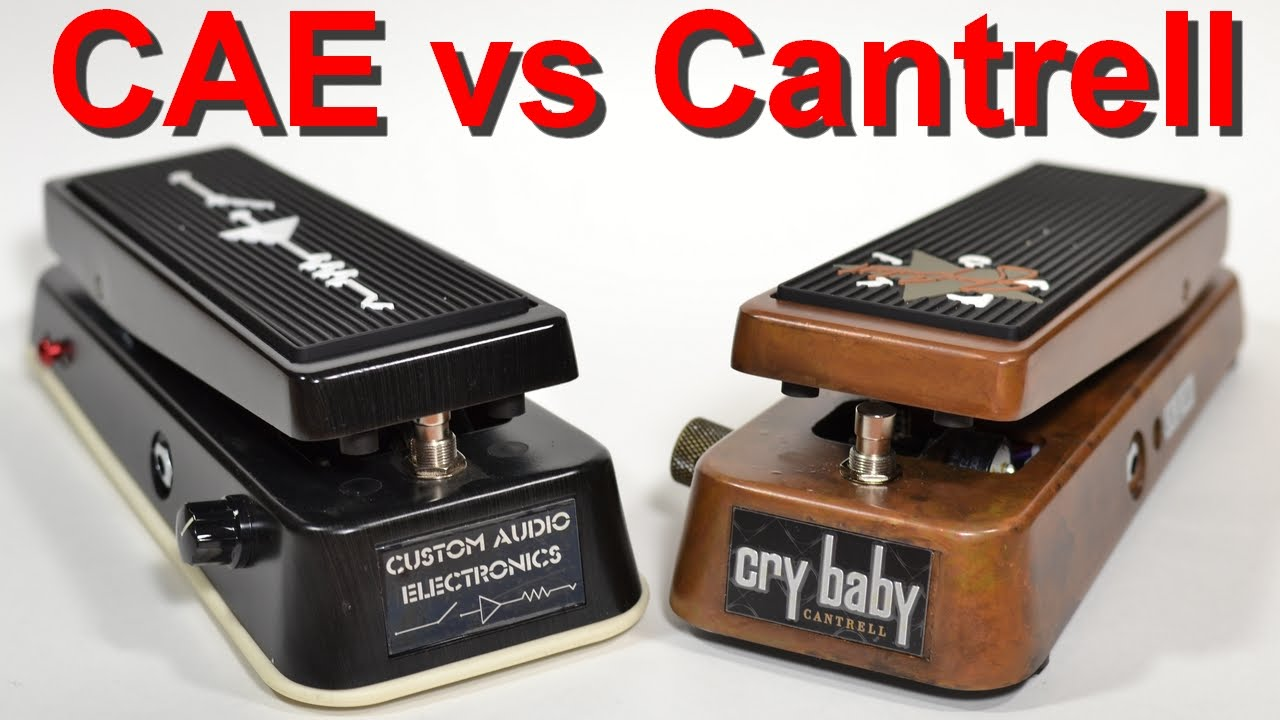Mc404 Cae Vs Dunlop Cantrell Wah Youtube