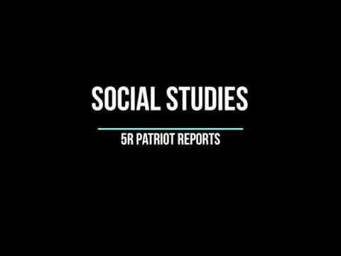 Montini Catholic School: Social Studies 5R/ Patriot Videos