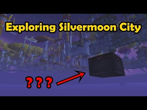 Out of Bounds Exploration - Silvermoon City