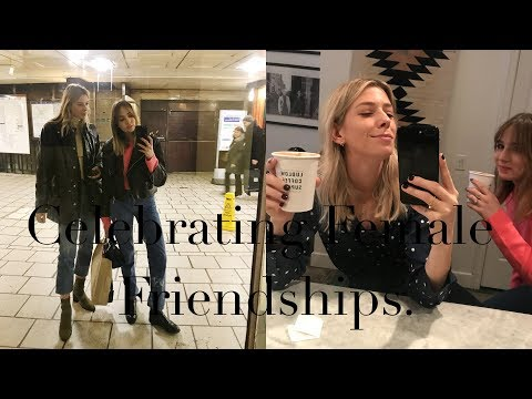 Celebrating female friendships with Lizzy Hadfield | Get to know us!