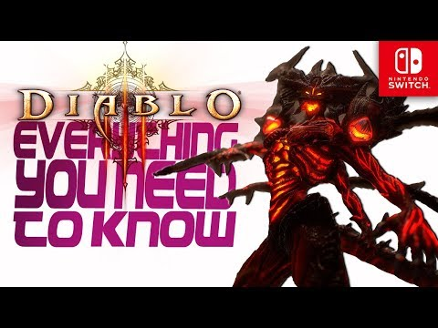 Diablo 3 Nintendo Switch Preview - Everything YOU NEED to know about the game